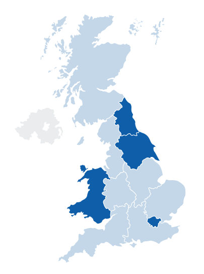 UK Map of Web.com Offices